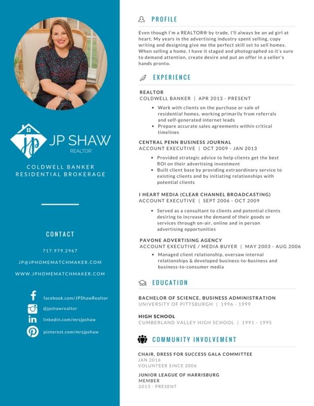 JP Shaw Resume